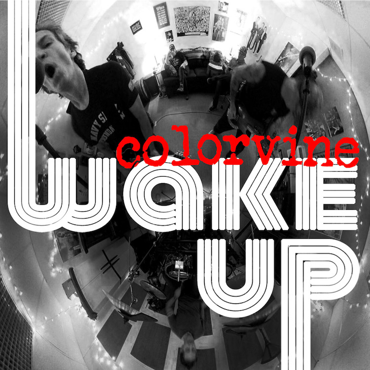 colorvine band wake up cover
